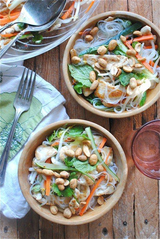 Vietnamský nudlový salát 3 Foto: