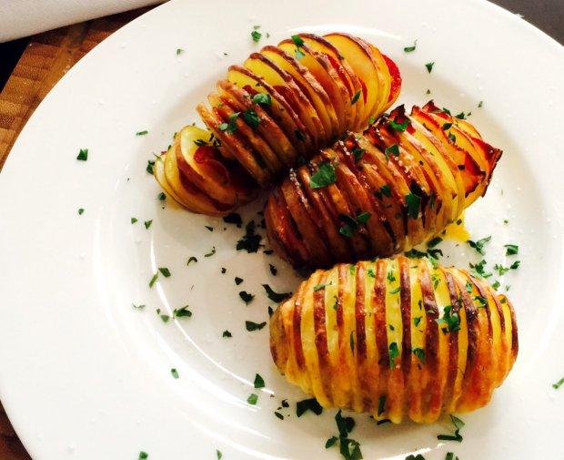 Plněné Hasselback brambory  Foto: