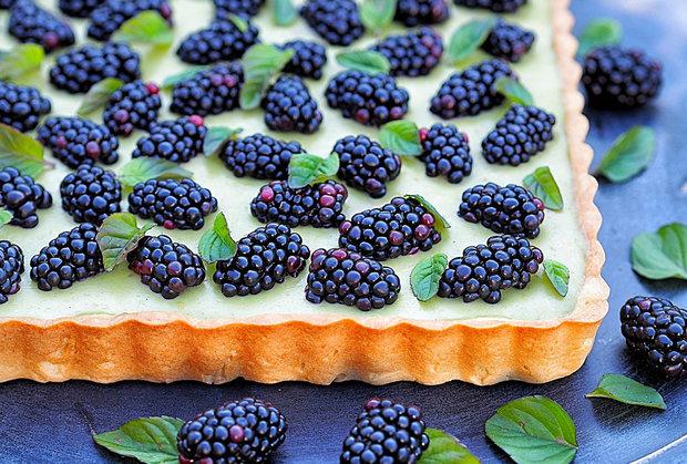 Špaldový koláč s příchutí čaje Matcha 2 Foto: