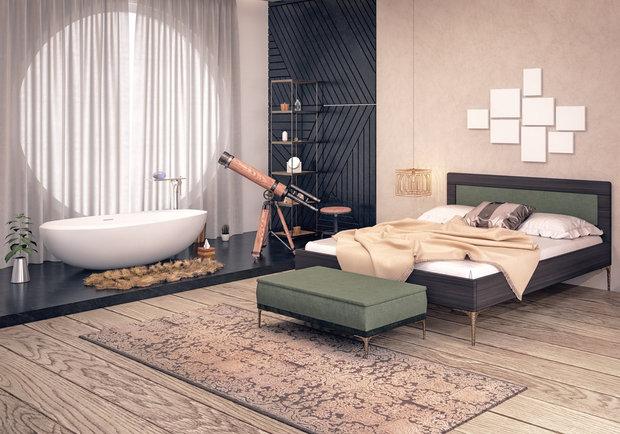 I takto může vypadat moderně pojatá ložnice Foto: