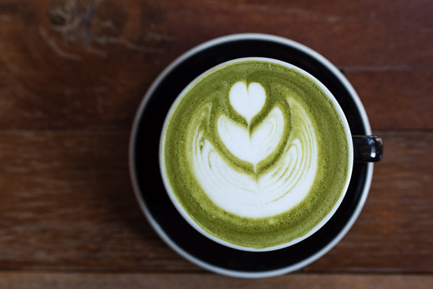 matcha latte Foto: