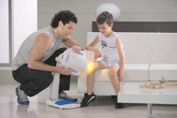 Soutěžte se světelnou terapií Bioptron dítě Foto: