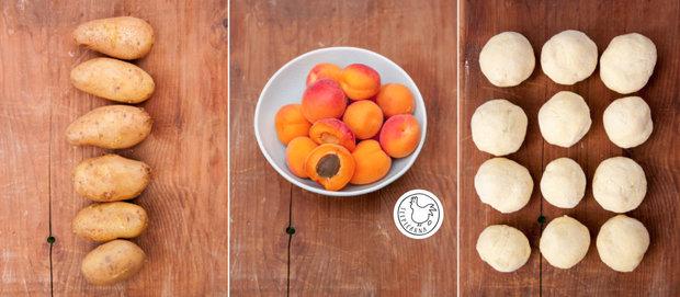 Bramborové meruňkové knedlíky 2 Foto: