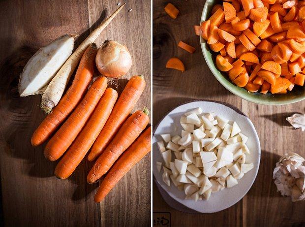 Mrkvová polévka s celerem a petrželí ala svíčková 2 Foto: