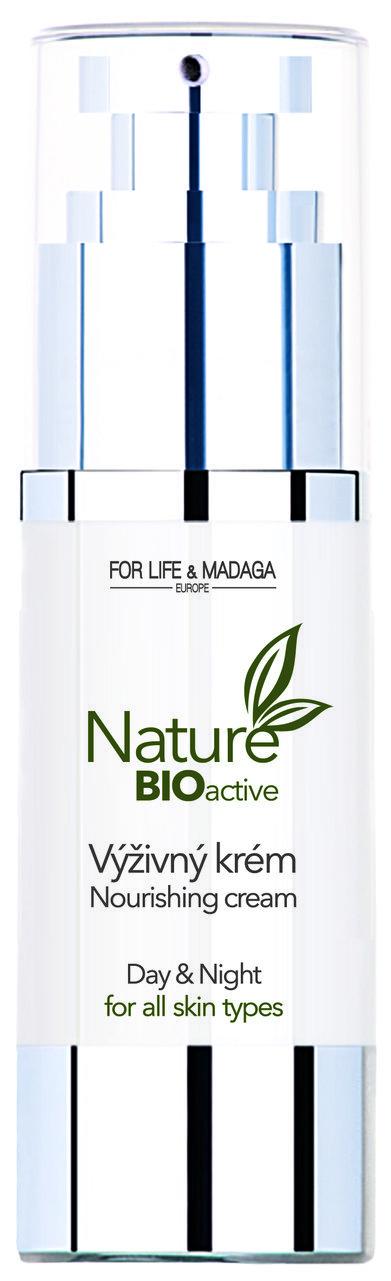 Nature BIOactive výživný krém z čistě přírodních BIO surovin, 368 Kč/30 ml, www.forlifemadaga.com  Foto: