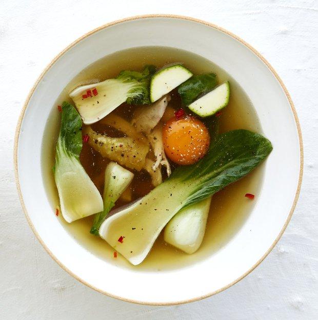 Kuřecí polévka se zázvorem  Foto: