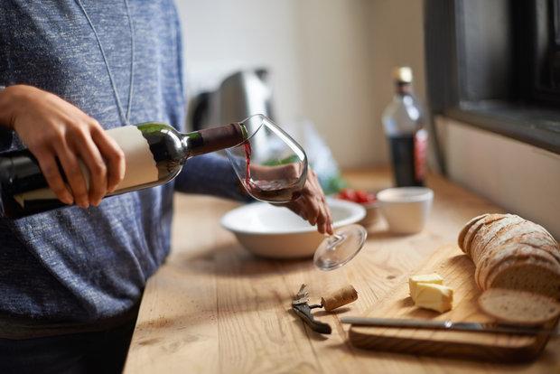 Pomůže i víno. Foto: