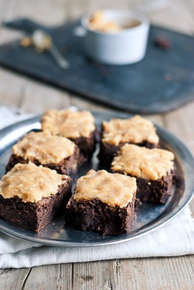 Brownies se slaným karamelem  Foto: Sweet pixel blog