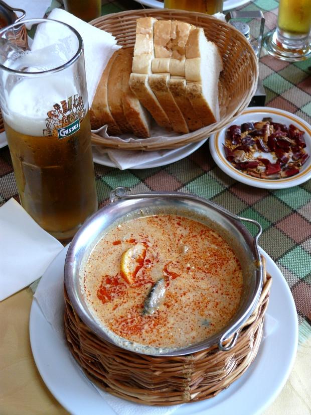 Za jídlem východního Maďarska  Foto: Jiří Michal