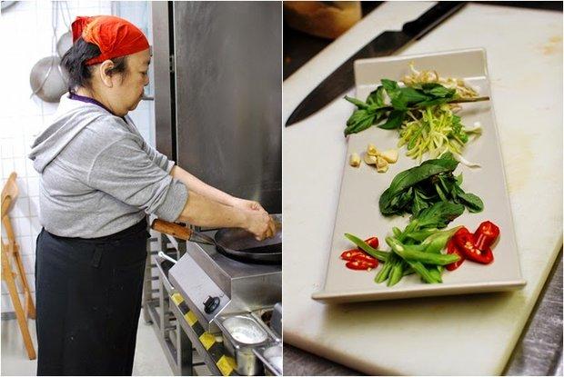 Thajské nudle z Café Buddha 4 Foto: Tereza Sychrová FOODLOVER.CZ