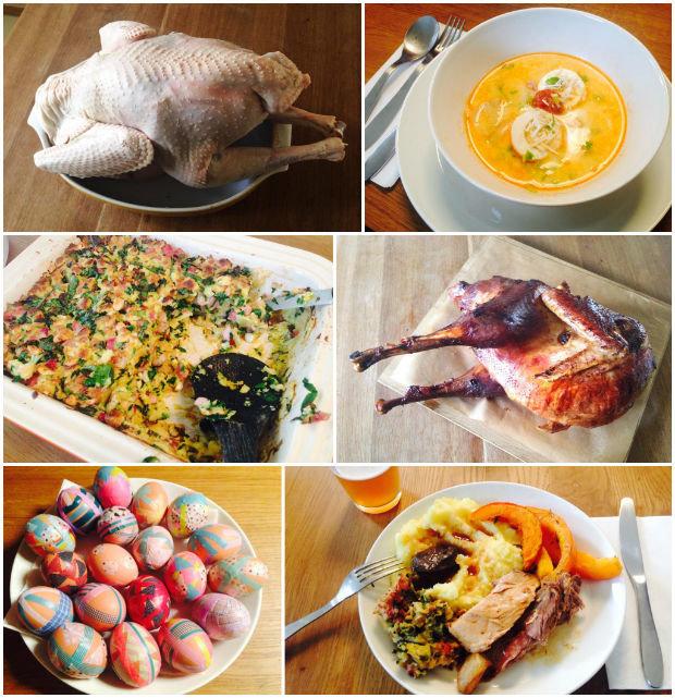 Velikonoční vaření a posléze obžerství :) Foto: Klára Michalová