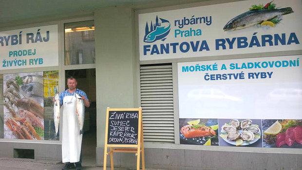 Rybárny Praha 2