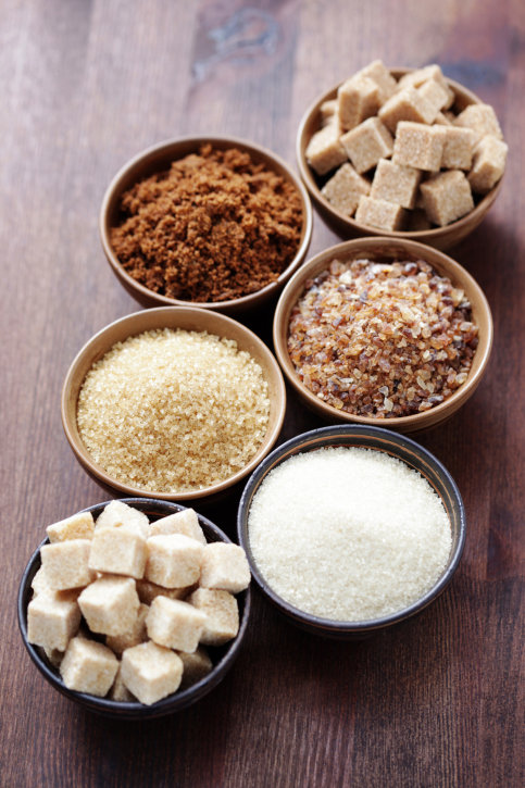Cukr bílý, hnědý nebo třtinový 3