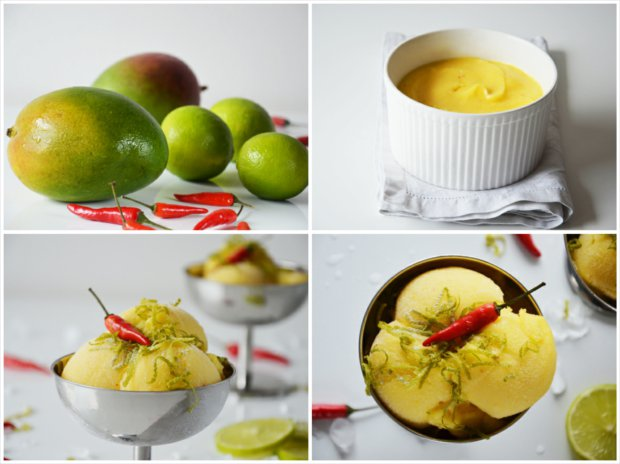 Mangový sorbet s chilli Foto: