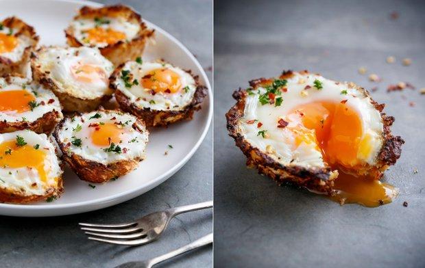 Květákové košíčky s vejci 2 Foto:
