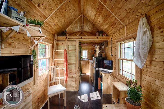 Cena: 620 tisíc (25 tisíc dolarů) Plocha: 12,5 m2 Přemístitelná: ano Nejlepší vlastnost: Má prostornou kuchyň Foto: