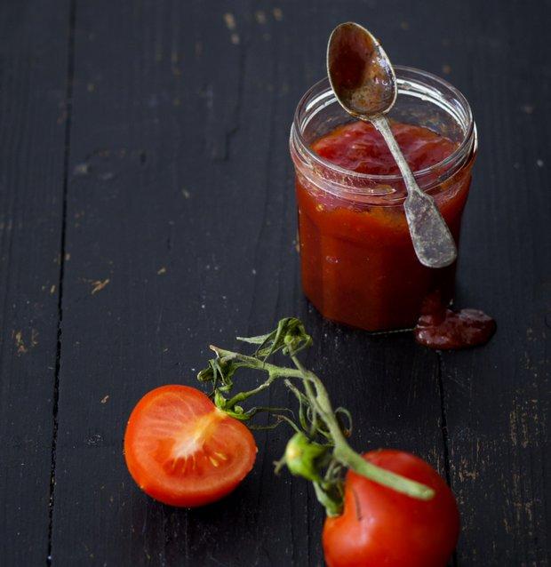 Sladká rajčatová marmeláda  Foto: