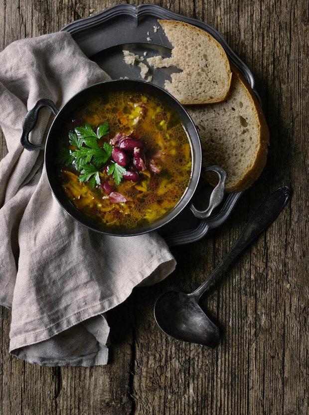 Istrijská fazolová polévka 2 Foto: