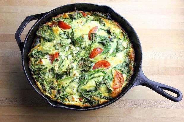 snídaně omeleta Foto: