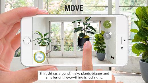 Chytrá aplikace vám poradí, jak rozmístit květiny v interiéru. Foto: