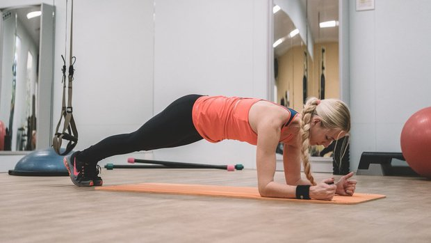 Velký speciál: Zhubněte a dostaňte se do formy #1 plank Foto: