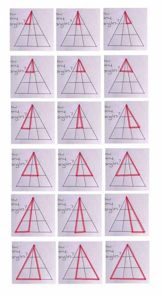 hlavolam - trojúhelníky řešení Foto: