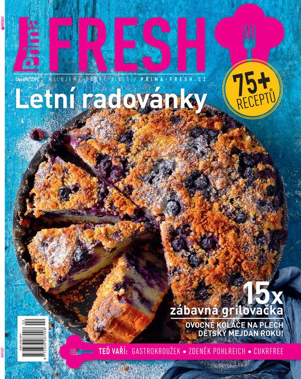 Letní číslo časopisu Prima FRESH Foto: