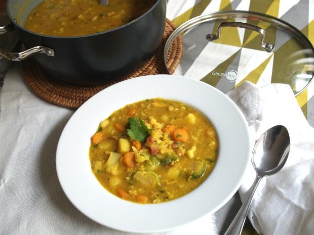 Podzimní polévka s červenou čočkou  Foto: Klára Michalová