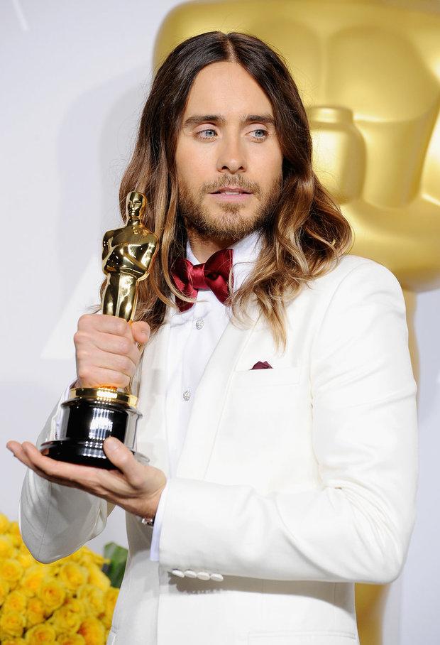 Jared Leto na letošních Oscarech Foto: isifa.com