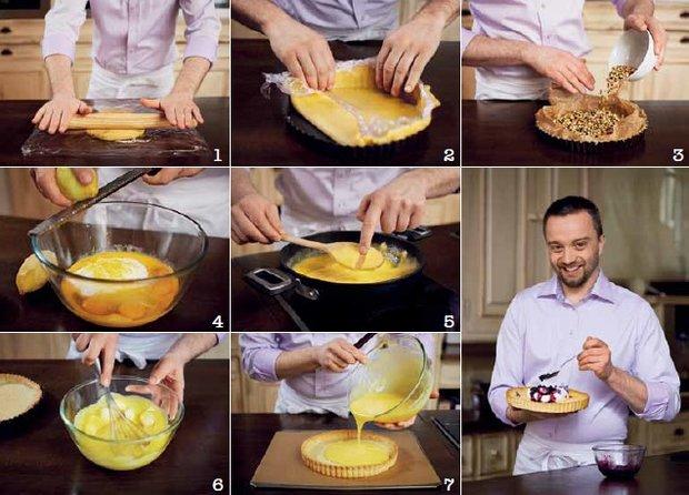 Francouzský citronový koláč  Foto: Gurmet