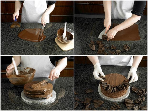 Nadýchaný čokoládový dort Foto: isifa.com