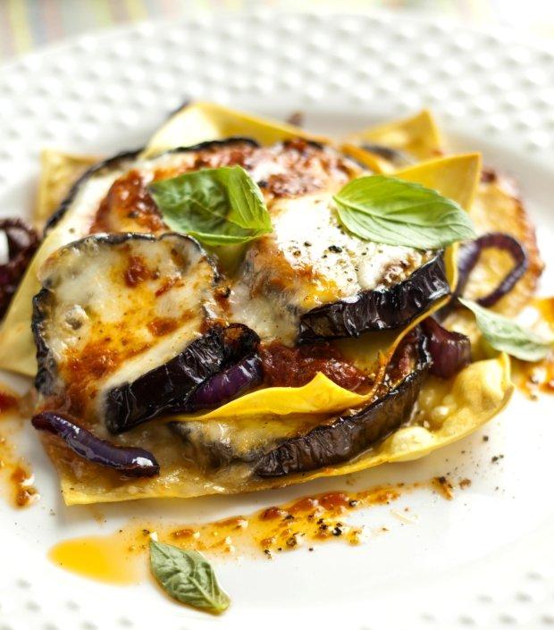 Středomořské otevřené lasagne Foto: