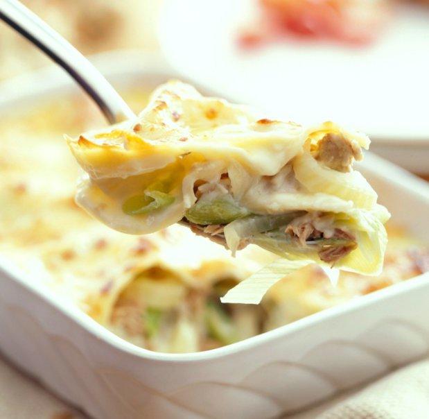 Lasagne s tuňákem a fenyklem Foto: