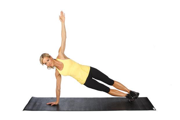 Side-Plank Foto: