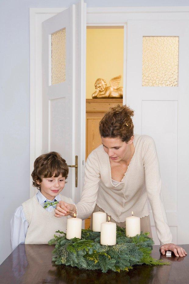 Adventní věnce patří k vánoční pohodě - Obrázek 1 Foto:
