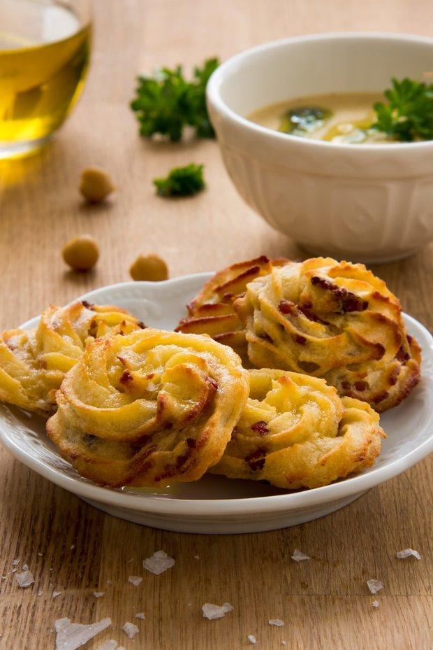 Pečeme podle hvězd - bramborové pusinky Foto: