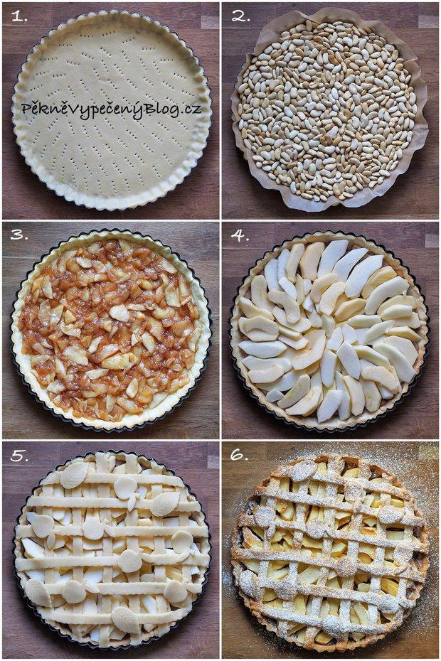 Křehký koláč s jablky 2 Foto: