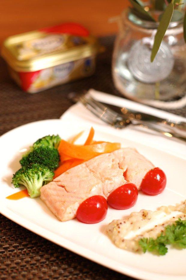Losos s celerovým pyré Foto:
