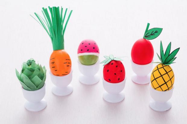 ovocno-zeleninová vajíčka Foto: