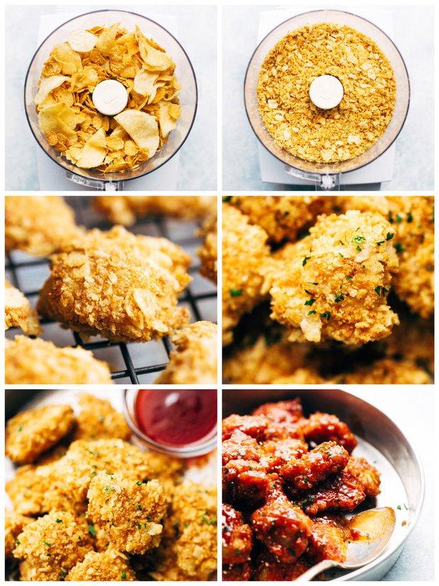 Lepkavé kuřecí kousky s omáčkou sriracha 2 Foto: