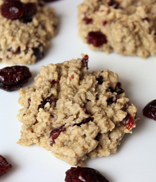 Ovesné sušenky s brusinkami  Foto: