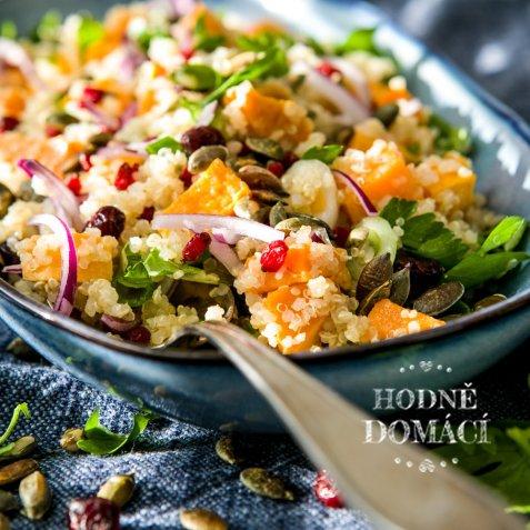 Quinoový salát s batáty 2 Foto: