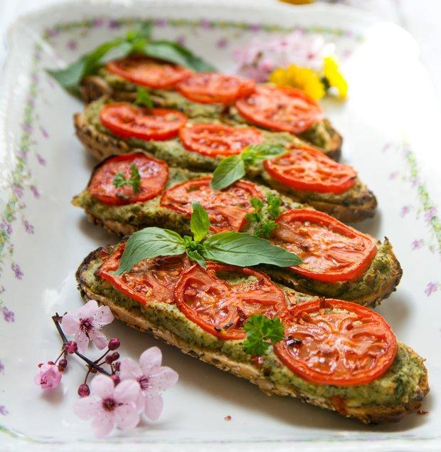 Brokolicové zapékanky s rajčaty  Foto: