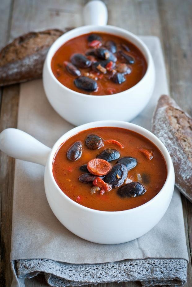 Pikantní fazolová polévka Foto: Sweet pixel blog