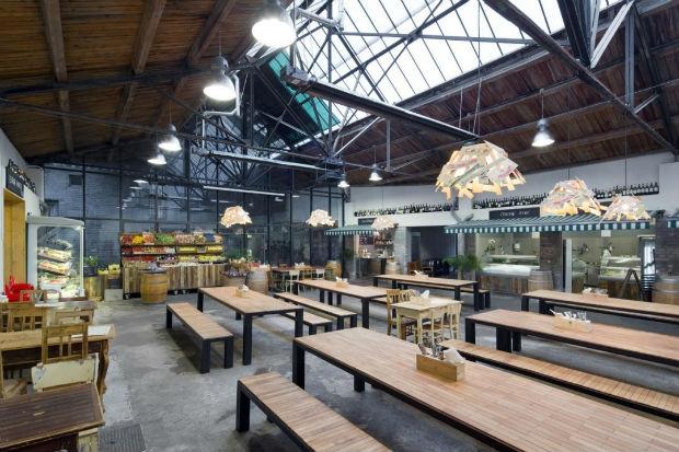 Wine food market - restaurace