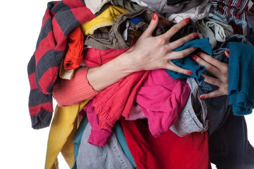 Uklidit si ve skříni znamená uklidit si i v životě Foto:
