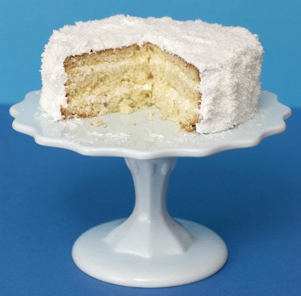 Kokosový dort s limetkou Foto: