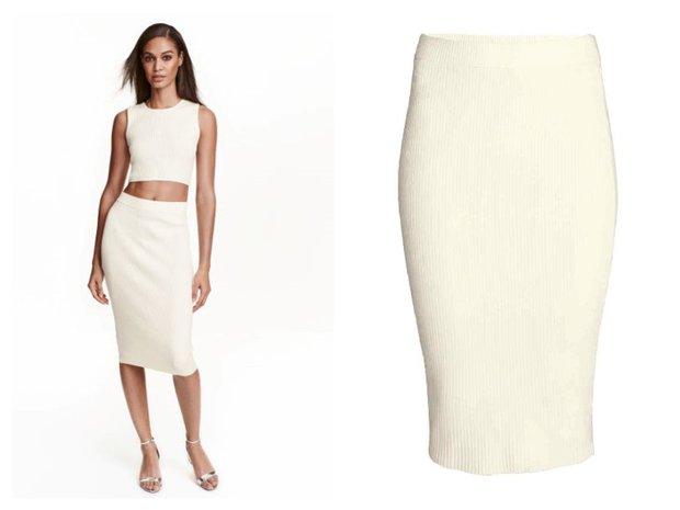 H&M, pouzdrová sukně 899 Kč Foto: