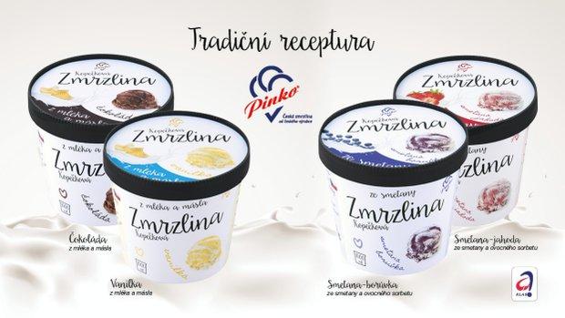 Česká zmrzlina z čerstvého másla a mléka 2 Foto: