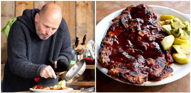 Vepřový steak s BBQ omáčkou  Foto: